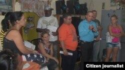 Reporta Cuba Opositores reunidos en Pinar del Río Octubre 2014 Foto Yelky Puig