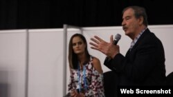 El expresidente mexicano, Vicente Fox, entre los invitados al evento eMerge Américas con sede en Miami Beach.