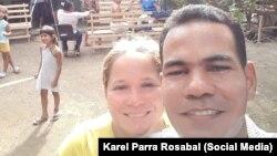 El pastor Karel Parra Rosabal en la provincia de Las Tunas.