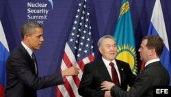 Archivo - Cumbre de Seguridad Nuclear 2012.