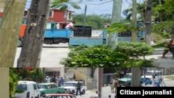Cuba Damas activistas asedio represión Fotos de Angel Moya
