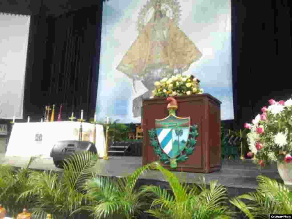 Misa por la Virgen