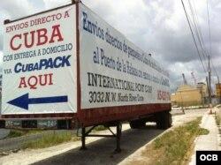 International Port Corp., una de las que tienen contrato con CubaPacks