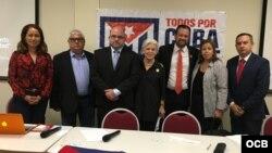 Participantes en la sesión de trabajo de Justicia Cuba