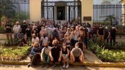 Repercute en toda Cuba la protesta de San Isidro