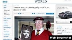 La noticia en el Toronto Star