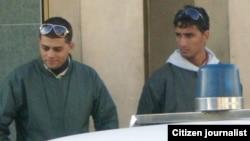 Fotografía de archivo. Agentes de la Seguridad del Estado.