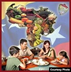 Cartel progubernamental de Soberanía Alimentaria