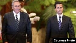 Castro y Peña Nieto abordarán temas relacionados con turismo, comercio y migración, durante la visita del mandatario cubano a Mérida.