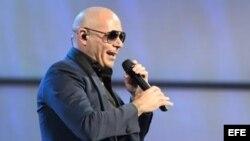 Foto de archivo del cantante Armando Christian Pérez, más conocido como Pitbull.