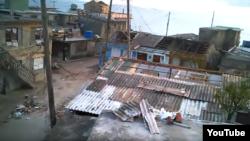 Matthew causó daños severos a miles de viviendas en Baracoa.
