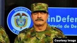 Mayor general Javier Flórez, del ejército colombiano.