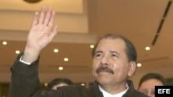 Foto de archivo del presidente de Nicaragua, Daniel Ortega.