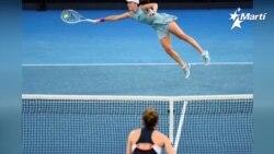 Continua el abierto de tenis en Australia