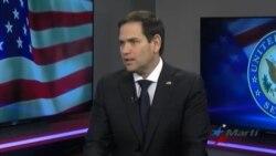 """Marco Rubio: """"Le corresponde al pueblo cubano decidir su futuro"""""""