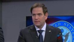 Marco Rubio exhorta a militares nicaragüenses a no masacrar a su pueblo