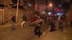 """Protestas violentas al grito de """"fraude"""""""