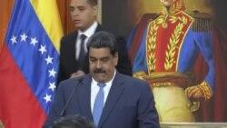 """Maduro dice no tener """"miedo a un combate militar"""" en Venezuela"""