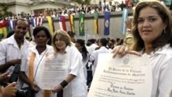 Cuba en la voz de sus activistas de derechos humanos: reportaje sobre recién graduados de universidad sin asideros