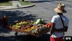 Vendedores ambulantes han sido afectados por medidas que buscan topar los precios de los alimentos para hacer frente a la inflación.