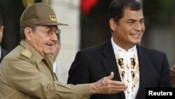 El diario destaca los esfuerzos por desmantelar la CIDH del presidente ecuatoriano, Rafael Correa, un aliado de Cuba.