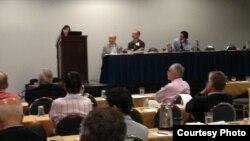 Conferencia ASCE en la edición del 2013.
