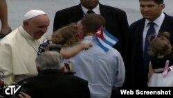 Francisco pedirá a la Virgen de La Caridad por todos sus hijos cubanos