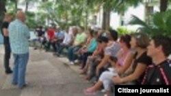 Reporta Cuba Activistas Pinar del Río reunión taller Foto Yelky Puig