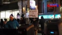 En Canadá cubanos piden liberación de presos políticos