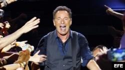 Foto de archivo del músico estadounidense Bruce Springsteen.
