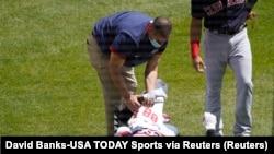 Sufre lesión pelotero cubano de Chicago
