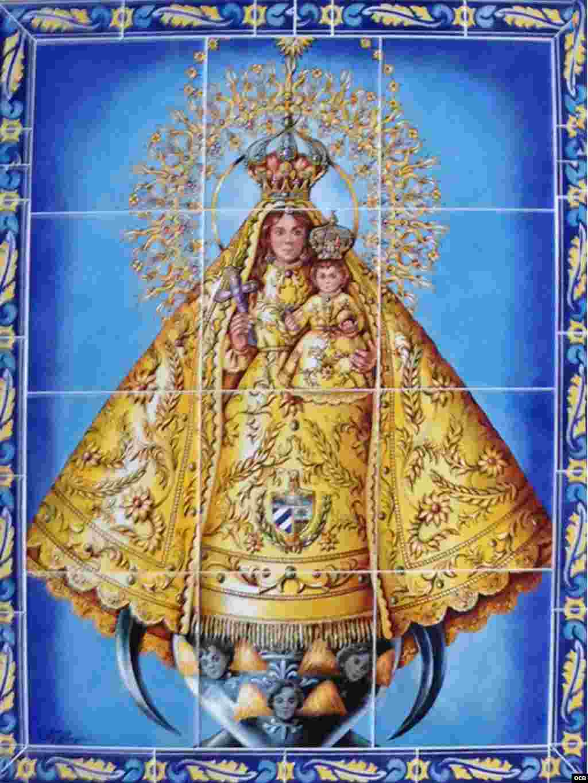 1- Virgen de la Caridad del Cobre de la Ermita