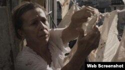 Escena del cortometraje cubano, La profesora de inglés