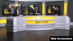 Programa Enfoque del canal iraní en español Hispan-TV