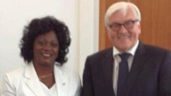 Berta Soler dialoga con el Ministro de Exteriores de Alemania sobre derechos humanos en Cuba