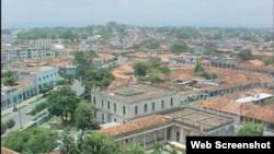 Reporta Cuba Vista aérea de la ciudad de Pinar del Río