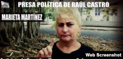 Marieta Martínez Aguilera.