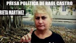 'Dama de blanco'Marieta Martínez denuncia arresto y golpiza a manos de la policía