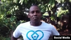 Alexander Roll Gibert, activista de UNPACU en La Habana. (Facebook).