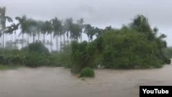 Lluvias en Pinar del Río.