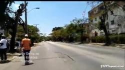 Video: muestra agresiones de las fuerzas militares a periodista independiente