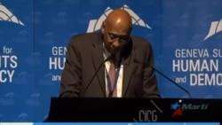 Almagro, Ledezma y Fariñas en 10ma Cumbre de Ginebra por los Derechos Humanos