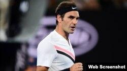 Federer jugará la tercera ronda del Australian Open.