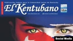 """""""El Kentubano"""", publicación cubana dedicada a la comunidad latina de Kentucky, Estados Unidos. (Facebook)."""