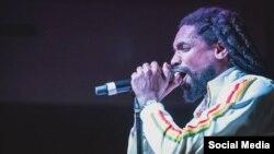 Raudel Collazo, artista contestatario del Hip-Hop cubano. Tomado de SQuadrón Patriota.