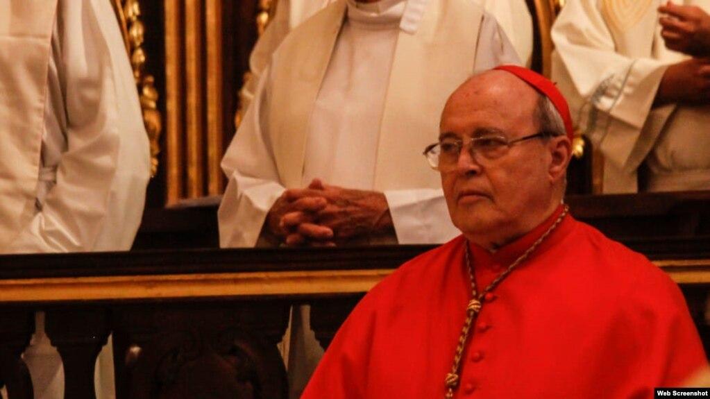 El Cardenal cubano Jaime Lucas Ortega Alamino. Foto Yandry Fernandez Perdomo. Vida Cristiana