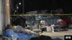 Peregrinos víctimas de un trágico accidente de tránsito en México.