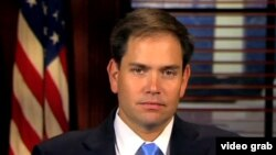El senador republicano por la Florida, Marco Rubio