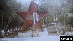 Soldado soviético en el Centro de Instrucción Número 12 en La Habana