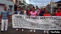 Activistas de UNPACU, 2015, archivo.
